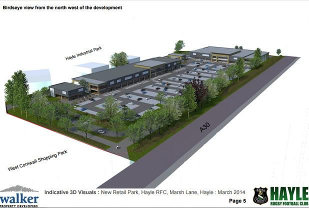 New Hayle retail park could be final nail in the coffin for Camborne town centre | West Briton